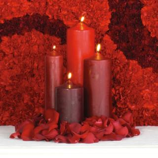 Altar Candle Arrangement