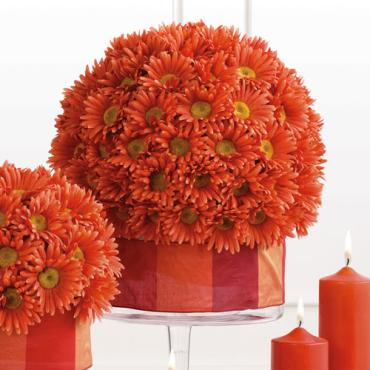 Large Gerbera Sphere Arrangement