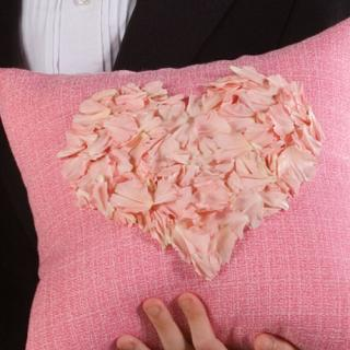 Heart Petal Pillow